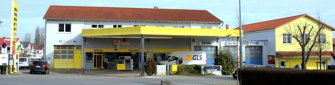 Tankstelle Wörner